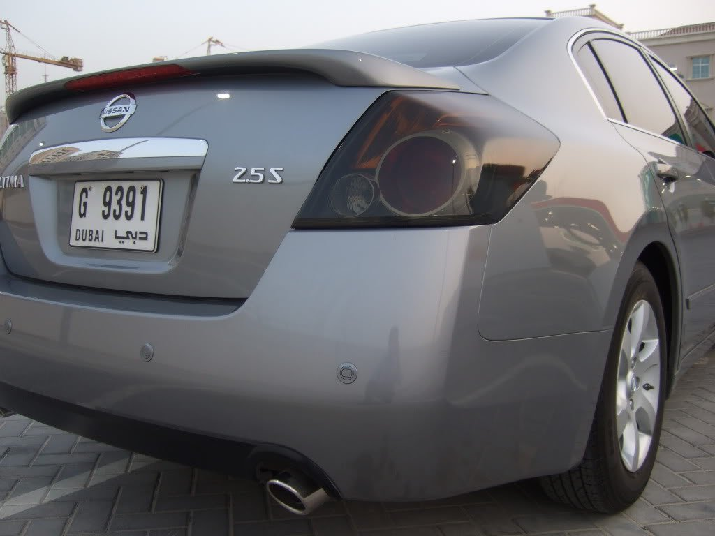 2007 2012 Nissan Altima Sedan Tinted Taillight Film Covers Taillamp  Overlays   Walmart.com