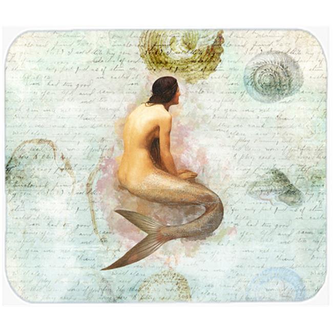 9.5 x 8 in. Mermaids and Mermen Mouse Pad, Hot Pad or Trivet - image 1 of 1