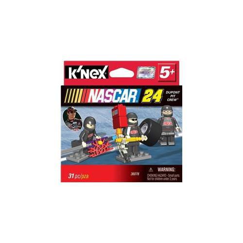 KNEX Nascar Dupont Pit Crew Building Set 31 Pc Knex by K'NEX