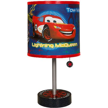 Disney Cars Lightning Mcqueen Table Lamp