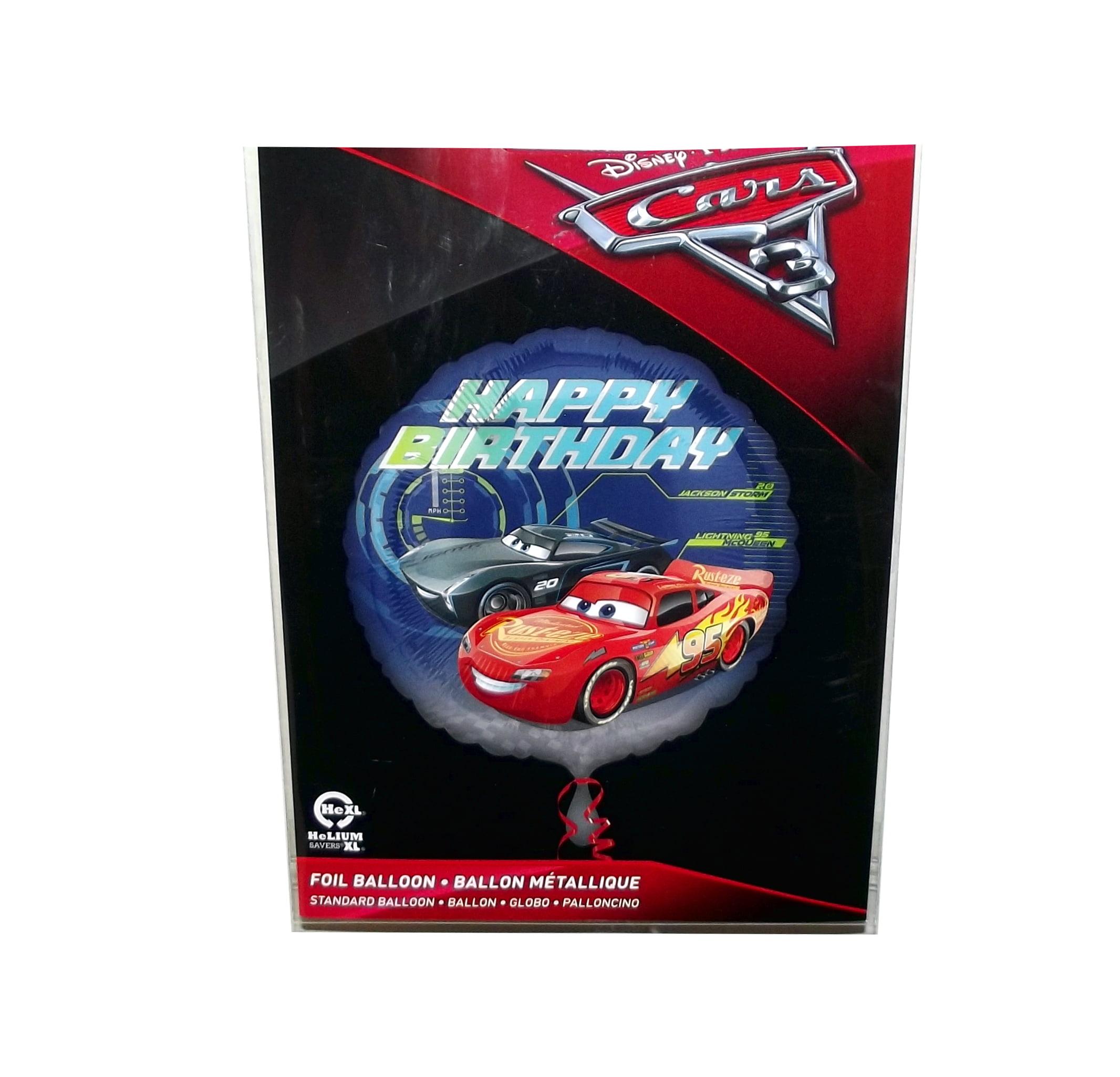 Disney Pixar Cars 3 Lightning Mcqueen And Jackson Happy Birthday