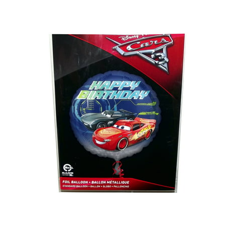 Disney Cars Balloons (Disney Pixar Cars 3 Lightning McQueen and Jackson