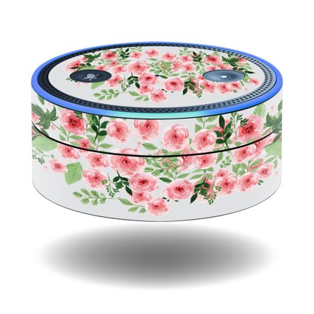 Skin Decal Wrap For Amazon Echo Dot  1St Generation  Cover Sticker Bouquet