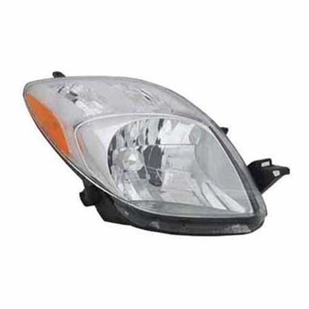 TO2503170 Right Headlamp Assembly Composite for 07-08 Toyota (2005 Model Toyota Yaris)