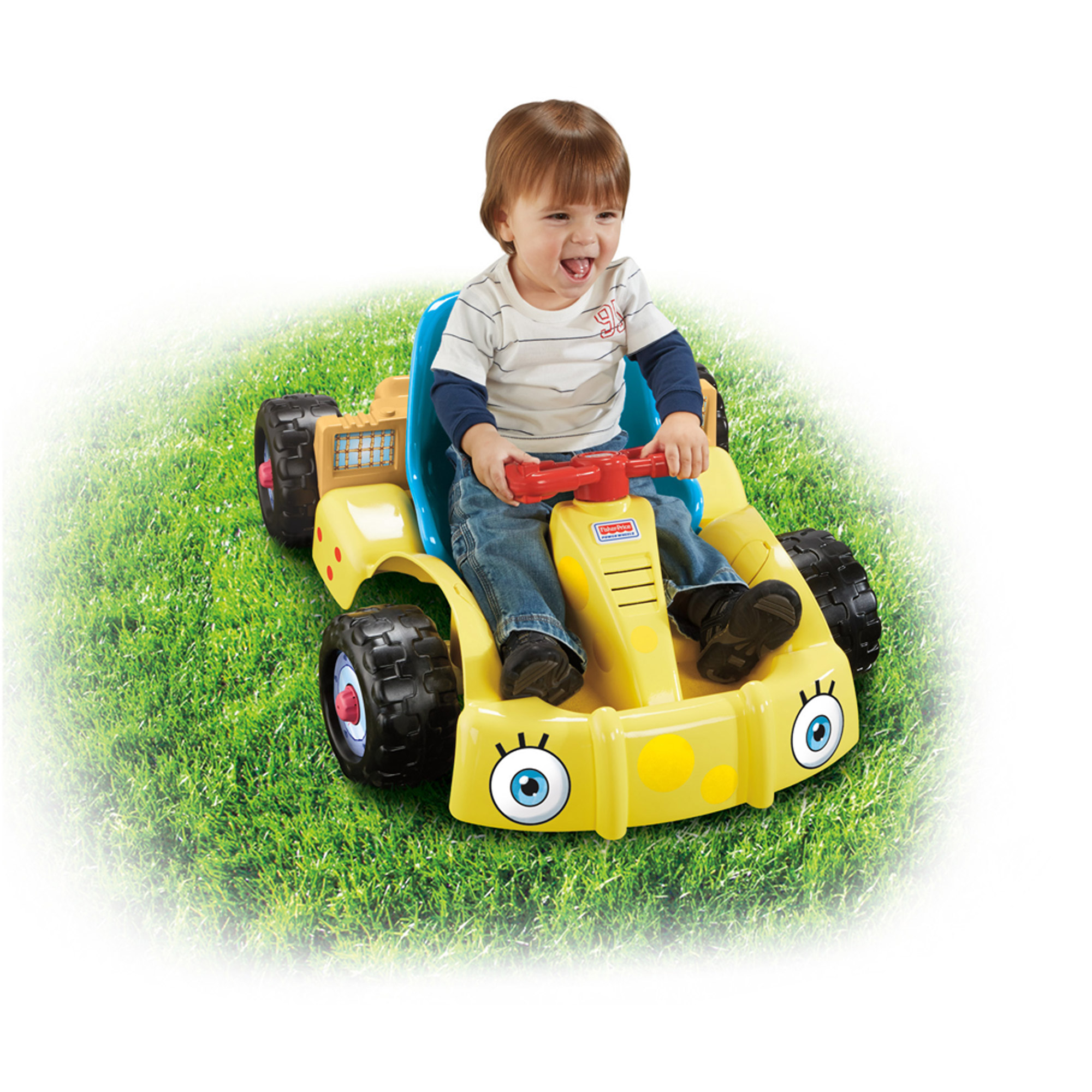 Fisher-Price Power Wheels Spongebob Squarepants Get Set Go! Kart
