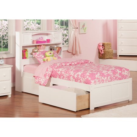 Harriet Bee Rottman Extra Long Twin Platform Bed With Storage