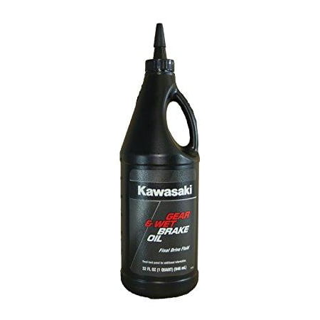 Mustang Brake Fluid - kawasaki gear and wet brake oil final drive fluid 1 quart k61030-004b