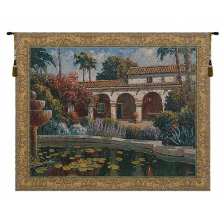 Charlotte Home Furnishings Mission Reflection by Robert Pejman Tapestry ()