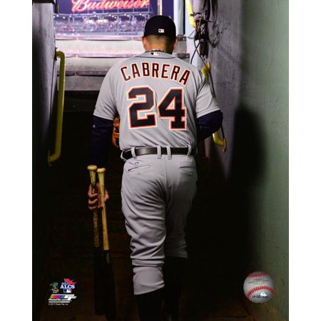(Miguel Cabrera Game 6 of the 2013 American League Championship Series Photo Print)