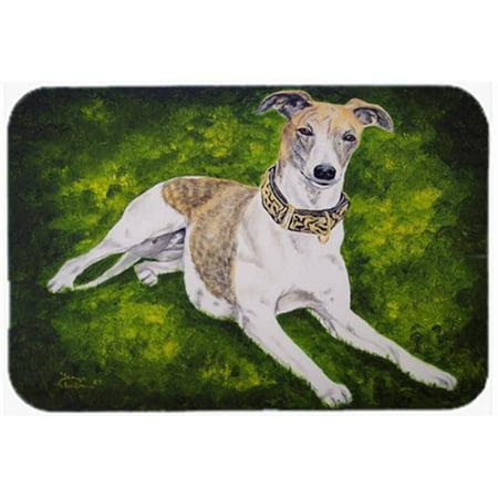 Carolines Treasures AMB1045LCB Isabella Greyhound Glass Large Cutting Board - image 1 of 1