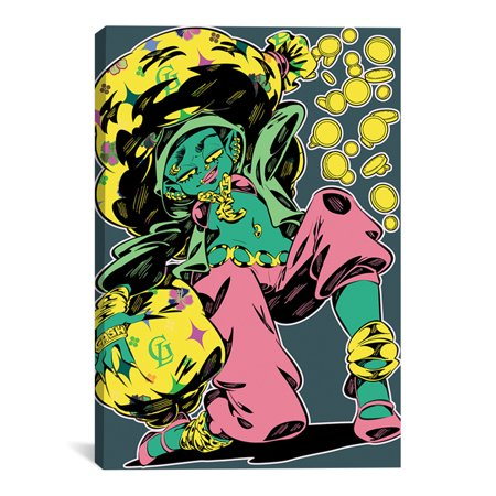 "Goblin Artwork | Choose from Canvas or Art Print | Living Room, Bedroom, Office, Bathroom Wall Decor Art Ready to Hang Para El Hogar Decoracion | 48"" x 32"" - Decoracion Para Halloween De Papel"