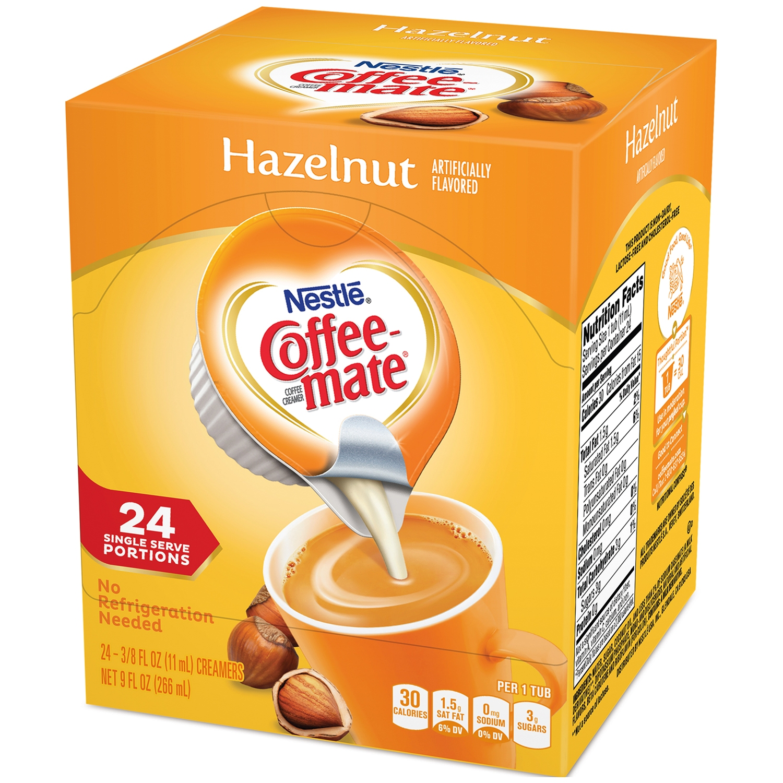 Nestle Coffeemate Hazelnut Liquid Coffee Creamer 24 ct Singles