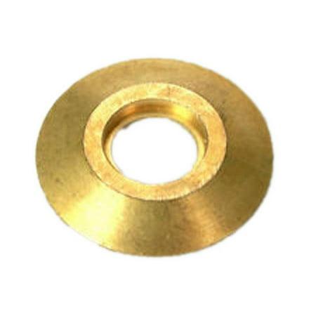Meyco DKFLG Brass Deck Flange Anchor For Inground Swimming Pool Safety (Deck Anchor Flange)