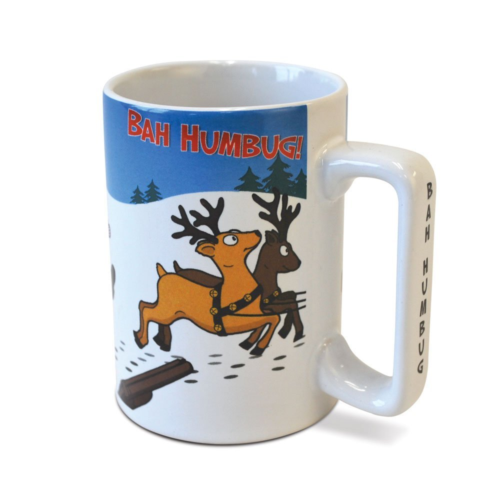Big Mouth Toys Ba Humbug 12 Oz Coffee Mug With Sound ...
