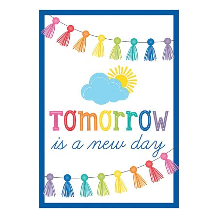 Fun Express - Sgs Hello Sunshine New Day Poster - Educational - Learning Aids - Learning Charts - 1