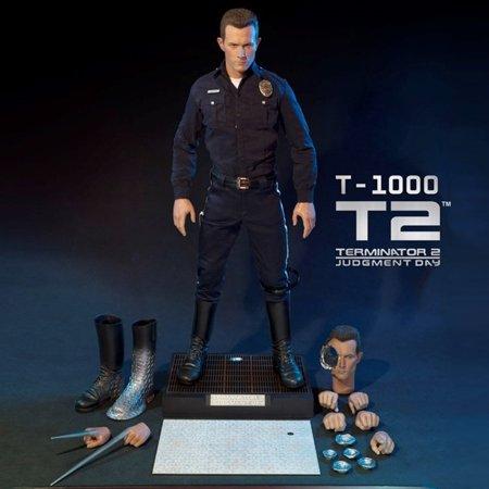Enterbay x Terminator 2 The Judgment Day T1000 Robert Patrick 1/4 Figure HD-1014 New (Christmas Gift Idea)
