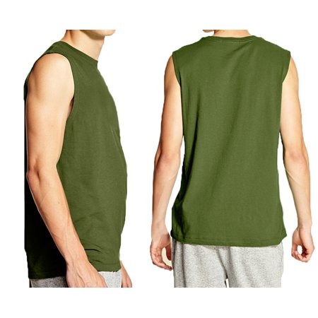 A Men's Muscle Shirts Green Large](Green Muscle Suit)
