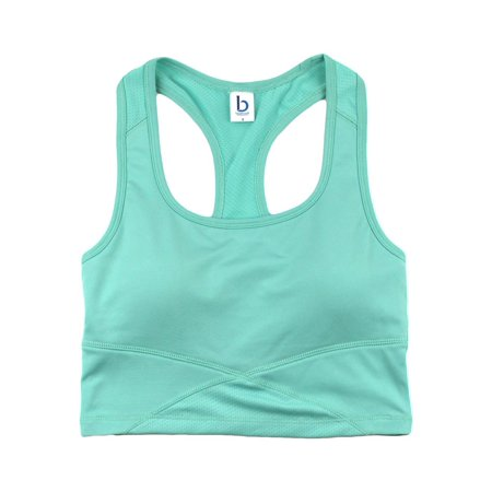 33bb07fa4f384 Boxercraft - Boxercraft T-Shirts Youth Cropped Middie Tank YS83 -  Walmart.com