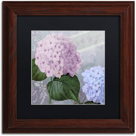 Trademark Fine Art Hortensia 2 Canvas Art By Color Bakery Black - Color-hortensia