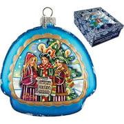 GDeBrekht 756-005 Christmas Carol Rainbow Glass Ornament