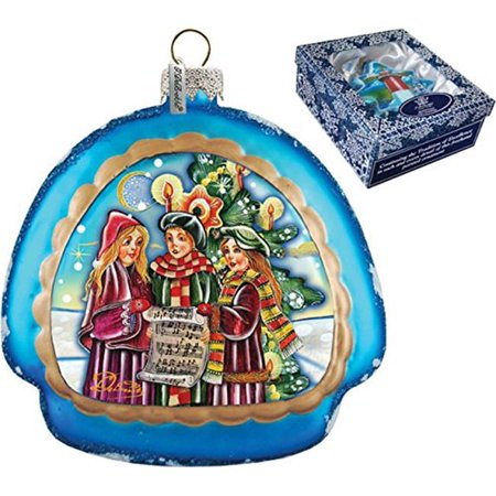 GDeBrekht 756-005 Christmas Carol Rainbow Glass Ornament