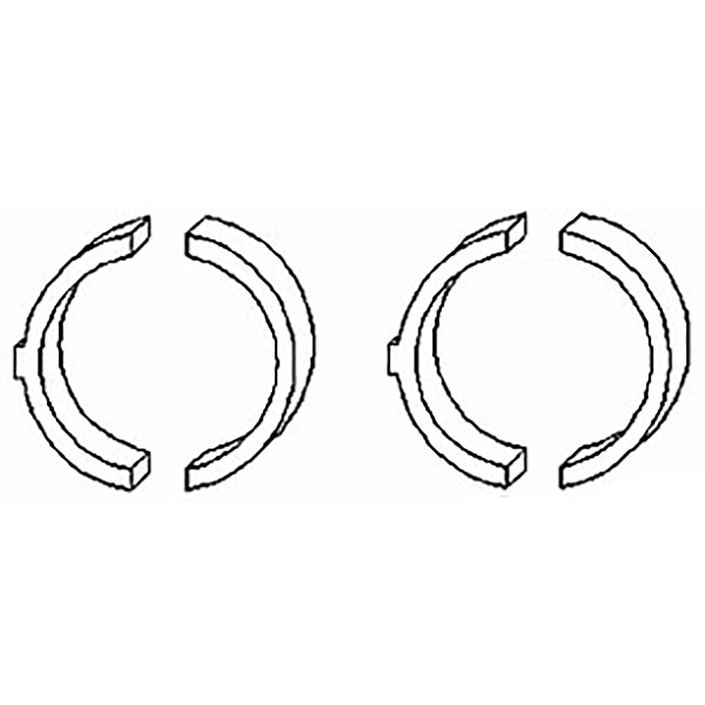 74061816 Set of (4) New Thrust Washers made to fit Allis