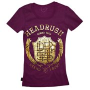 Women's Monogram Wreath T-Shirt - Aubergine