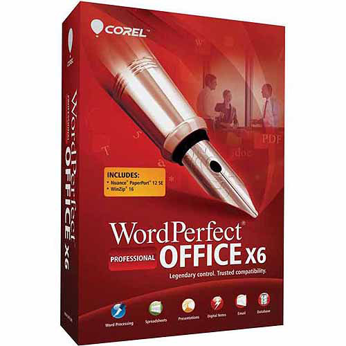 Corel Wordperfect Office X6 Pro (Windows) (Digital Code)