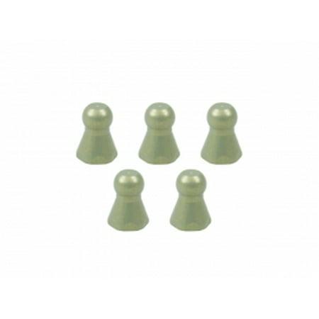 Integy RC Toy Model Hop-ups 3RAC-BS43077/TE 7075 4.3MM Hex Ball Stud L=7.7 M2.6 (5pcs) - Teflon -