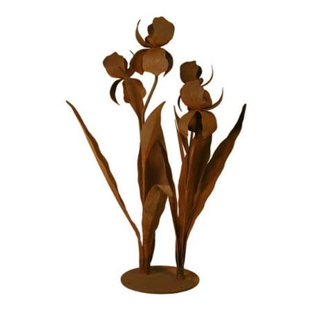 Iris Outdoor Metal Sculpture