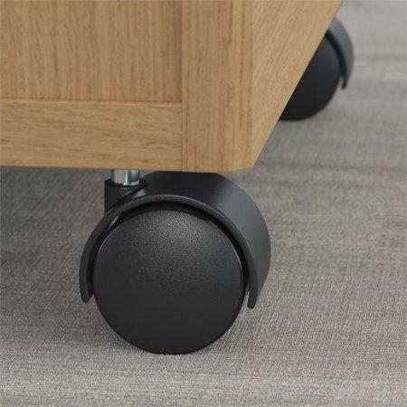 Bush Business Furniture Series C 2 Drawer Mobile File Cabinet in Oak - image 1 of 6