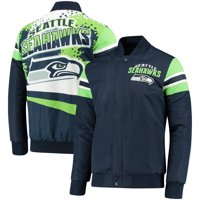Seattle Seahawks G-III Extreme Alpha Full-Snap Jacket - College Navy