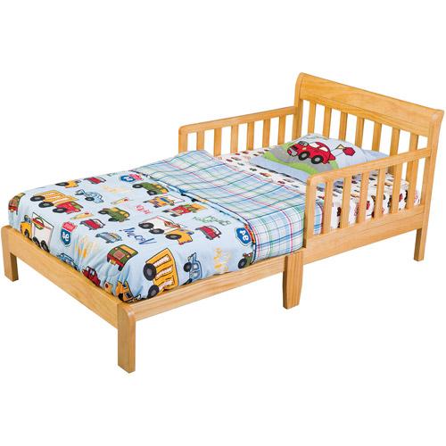 Delta Contemporary Toddler Bed Pine Walmart Com