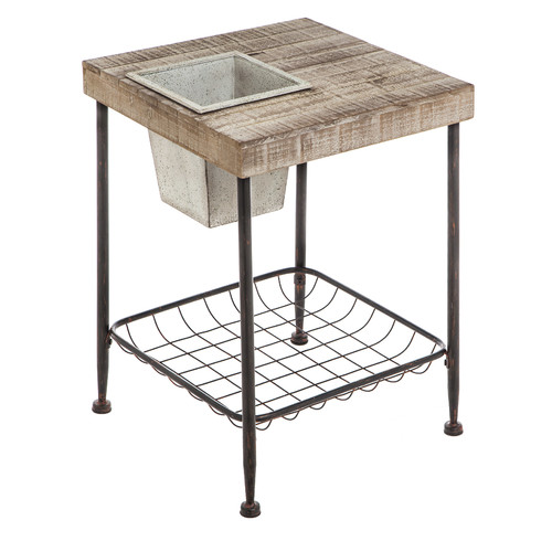 Evergreen Enterprises, Inc Square Plant Stand