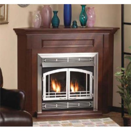 Standard Corner Cabinet Mantel EMBC3SC with Base - Cherry