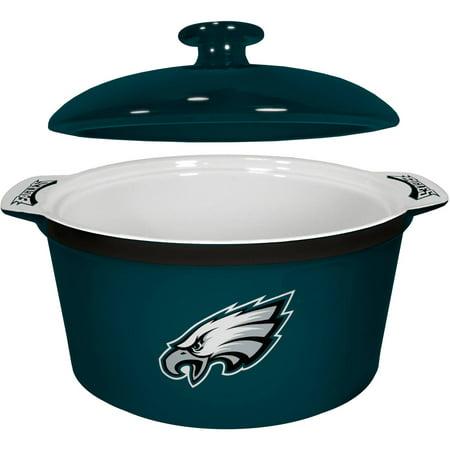 NFL Philadelphia Eagles Ceramic Game Time Oven Bowl by