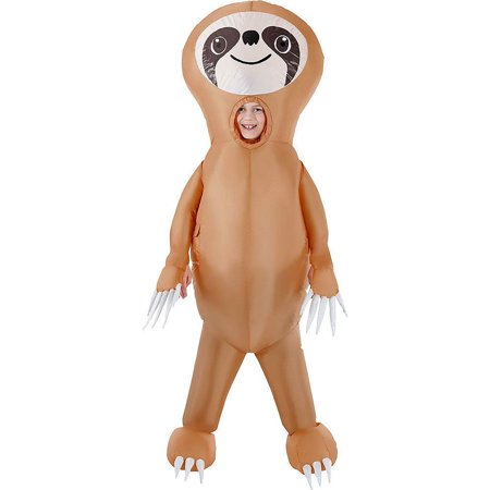 Morph Boys Inflatable Costume, Sloth Kids, One Size](Inflatable Morphsuit)