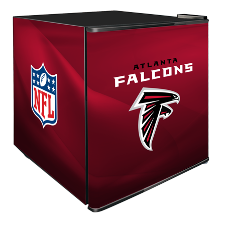 NFL Solid Door Refrigerated Beverage Center 1.8 cu ft- Atlanta Falcons by
