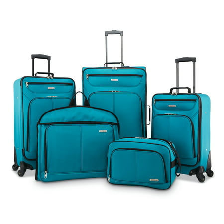American Tourister 5 Piece Softside Luggage Set American Tourister Luggage Set