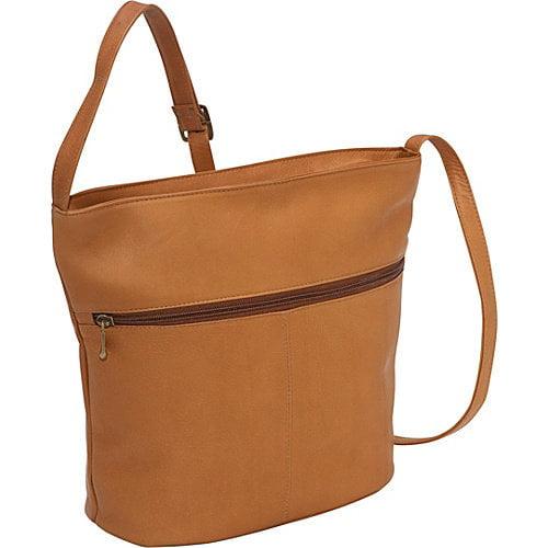 Le Donne Leather Bucket Shoulder Bag