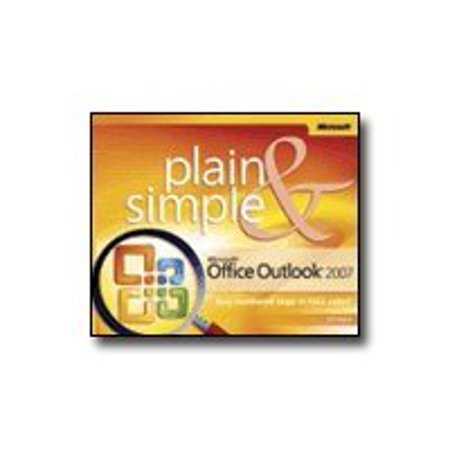 Microsoft Office Outlook 2007 - Plain & Simple - reference book - English