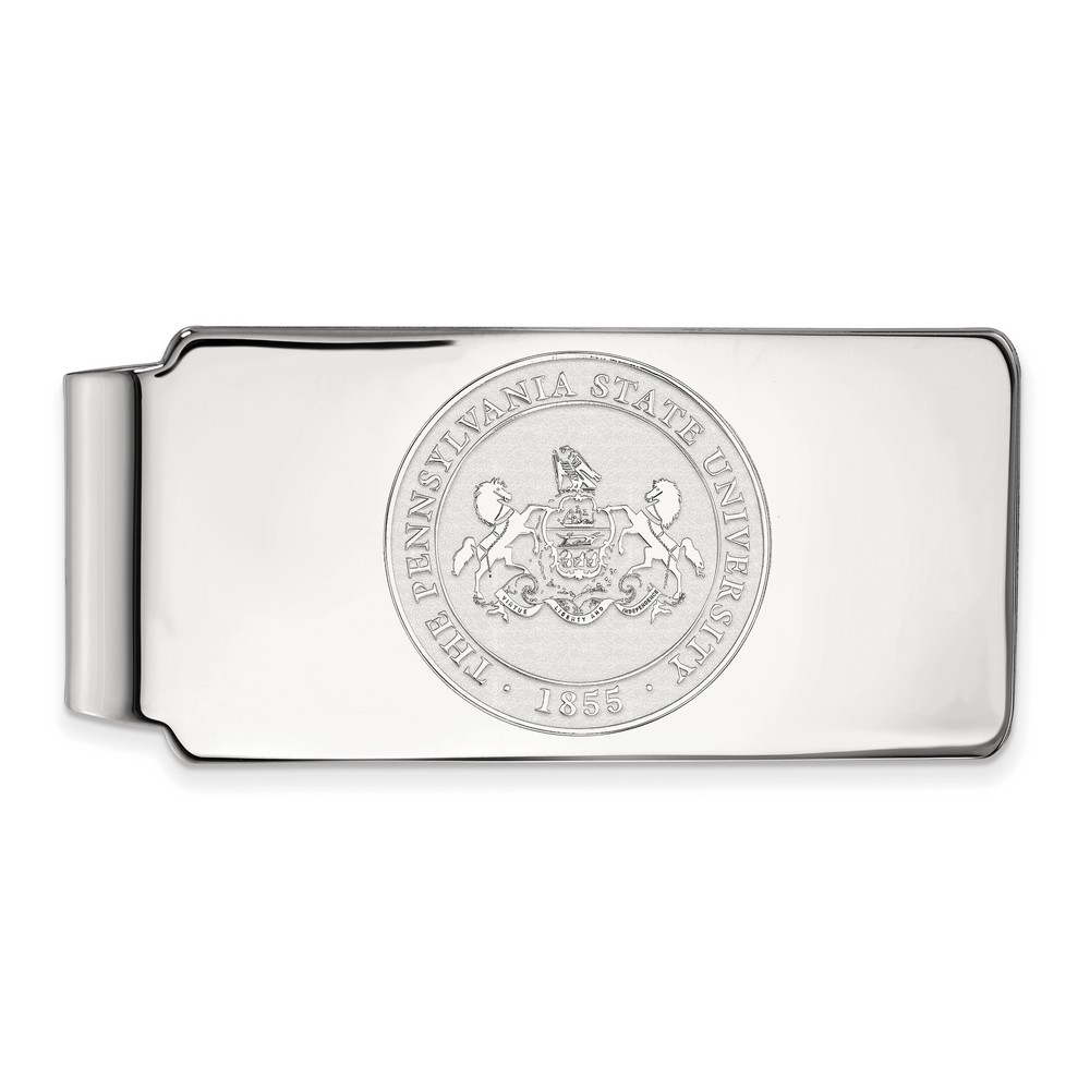 Penn State University Nittany Lions Money Clip Crest in S...