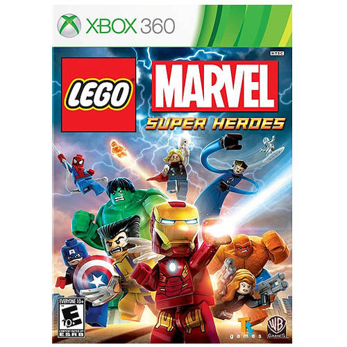Lego Marvel Super Heroes (Xbox 360) - Pre-Owned