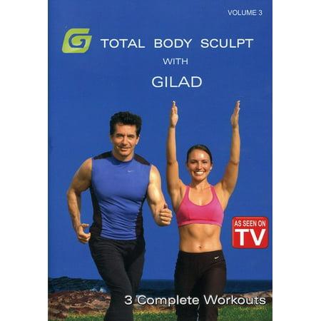Gilad: Total Body Sculpt Workout 3 (DVD)