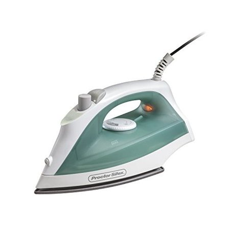 Proctor Silex 17291R Durable Iron with Nonstick Soleplate and Adjustable Steam Blue Dot 4 Iron