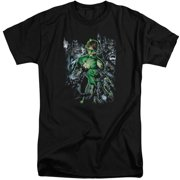 Green Lantern Surrounded By Death Mens Big and Tall Shirt