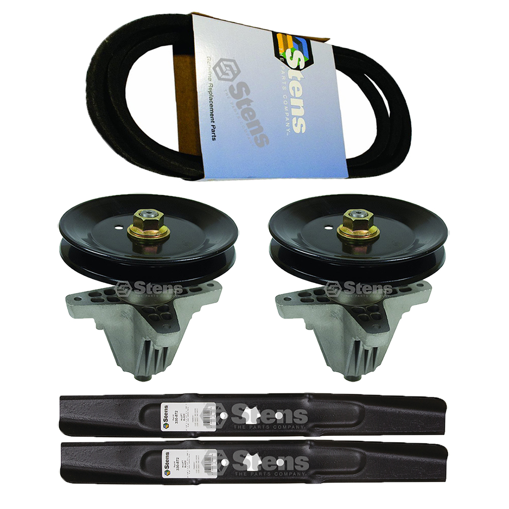 Lawn Mower Deck Spindle Blade Belt Kit Combo Cub Cadet MTD Sears Craftsman Coulmbia Troy Bilt... by Stens