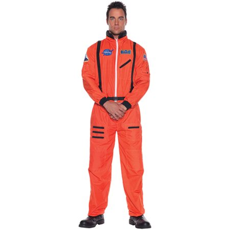 Orange Astronaut Halloween Costume (Online Halloween Invites)