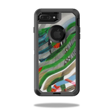 MightySkins Skin For OtterBox Defender iPhone 8 Plus | Protective, Durable, and Unique Vinyl Decal wrap cover | Easy To Apply, Remove, and Change Styles | Made in the USA