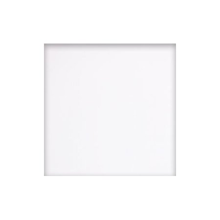 Nexus Vinyl Tile: Solid White N102: 1 Box 20 Square - Venetian White Tile